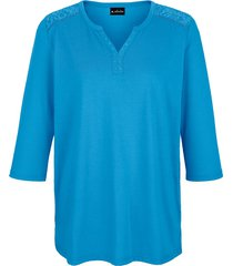 shirt m. collection turquoise