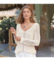 open breeze pullover