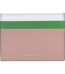 marni designer wallets, card holder with logo