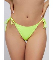 dół bikini w kolorze fluo