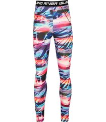 river island girls ri active pink tie dye leggings