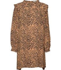 sonia dress knälång klänning brun nué notes