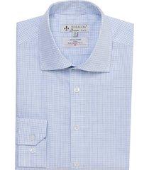 camisa dudalina wrinkle free fit xadrez masculina (cinza claro, 48)