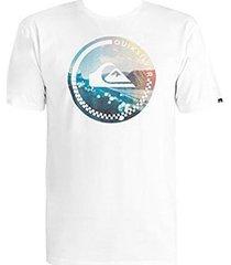 t-shirt korte mouw quiksilver t-shirt eqyzt03690-wbb0