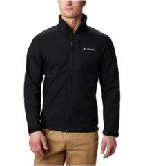 columbia men's ascender water-resistant softshell jacket
