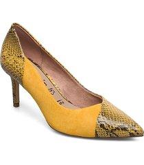 woms court shoe shoes heels pumps classic gul tamaris
