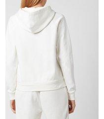polo ralph lauren women's horse logo hoodie - nevis - s