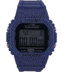 reloj azul virox