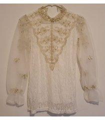 blusa blanca grupo tabu