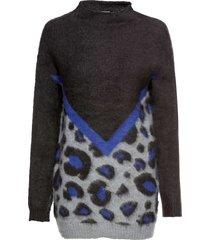 maglione leopardato (grigio) - bodyflirt
