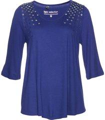 maglia lunga con paillettes (blu) - bpc selection
