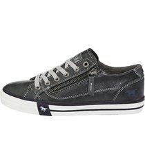 sneakers mustang antracitgrå
