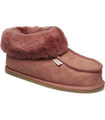 lena slippers tofflor röd shepherd