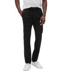 pantalon skinny khaki negro gap
