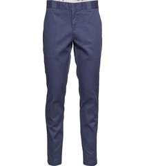 slim fit work pant chinos byxor blå dickies