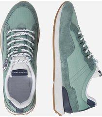 sneaker in nylon e microfibra
