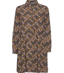 frmaori 2 dress kort klänning brun fransa