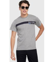camiseta gris-azul royal county of berkshire polo club