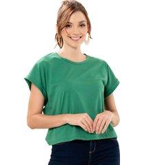 camiseta aura verde ragged pf51120560