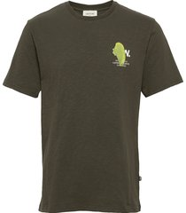 slater t-shirt t-shirts short-sleeved grön wood wood