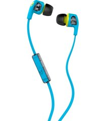 audifonos skullcandy smokin buds 2 hot blue/hot lime