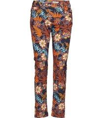 classic palm print raka jeans brun please jeans