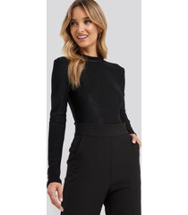 dr denim blix body - black