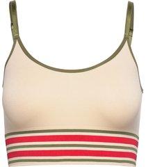 lucia long bra top lingerie bras & tops soft bras creme missya