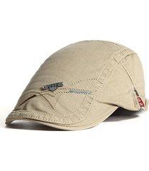 Cappelli - Uomo - Casual Outdoor Unisex Visiera - Cotone - Beige ... e5b67e7c3c81