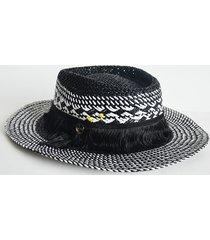 kapelusz black & white