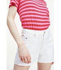 tommy hilfiger women's cutoff denim shorts white - 33