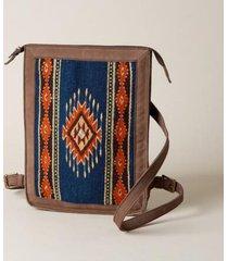 sundance catalog women's ancient stars backpack in blue