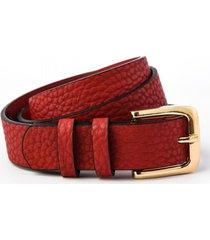 cinturón rojo amphora hella