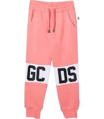 gcds cotton sport trousers