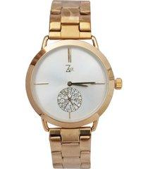 reloj para dama pulso en acero  dorado