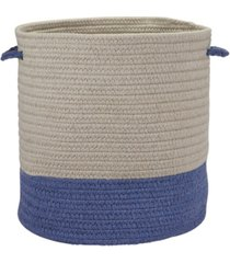 colonial mills sunbrella coastal braided basket