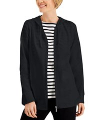 karen scott zip hoodie, created for macy's