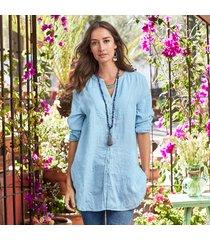 gabriella linen shirt