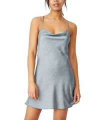cotton on woven jemma mini slip dress