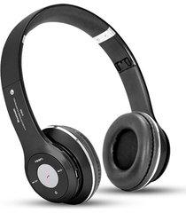 audífonos bluetooth, s460 auricular inalámbrico audifonos bluetooth manos libres  música audio estéreo plegable manos libres auriculares tarjeta de tf con micrófono (negro)