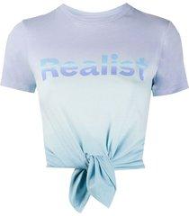 realist tie dye t-shirt