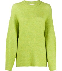 3.1 phillip lim round neck jumper - green