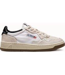 sneakers autry 01 colore bianco nero