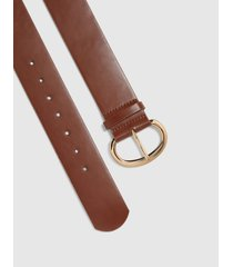 lane bryant women's brown stretch belt 26/28 brown