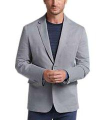joseph abboud light gray tic casual coat