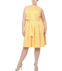 anne klein plus size herb garden dress