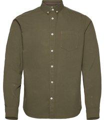regular bedf skjorta casual grön tom tailor