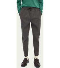 scotch & soda fave – broek van een wolmix | tapered fit