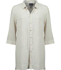 blouse long beige