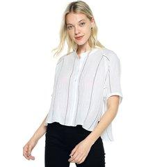 blusa blanco mng